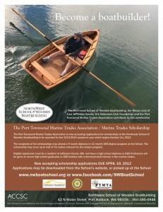 2013 Boat School Scholarship Ad